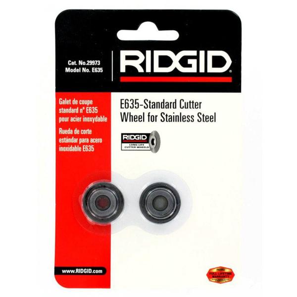 Kółka tnące do obcinaków RIDGID 35s / 65s E-635