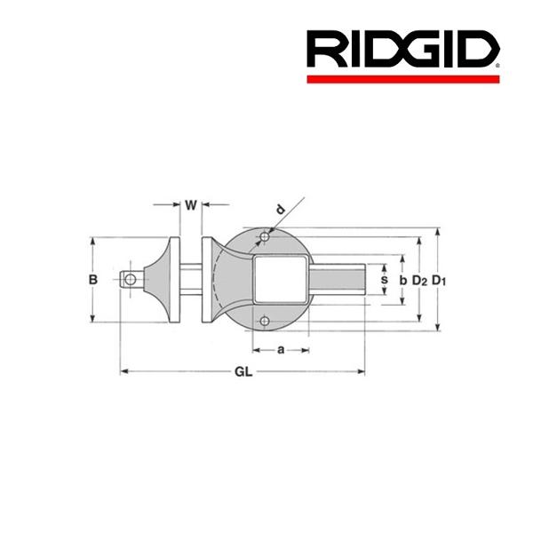 Imadło stołowe Matador / Peddinghaus 100 RIDGID