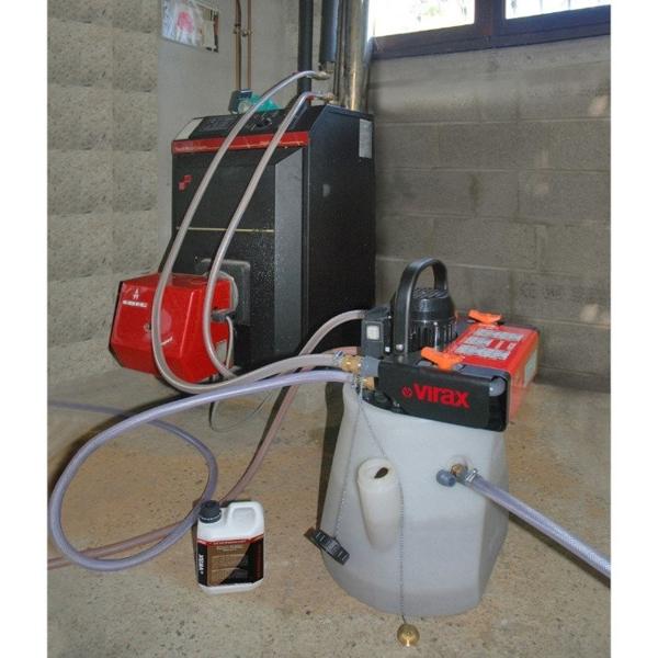 Pompa do przepychania / usuwania kamienia kotłowego Virax 295000