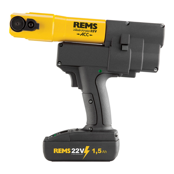 REMS Mini-Press 22V ACC Basic-Pack\P