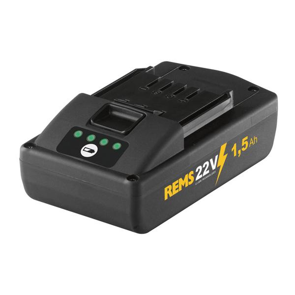 REMS Power-Pack 22V, 1,5Ah/230V, 90W