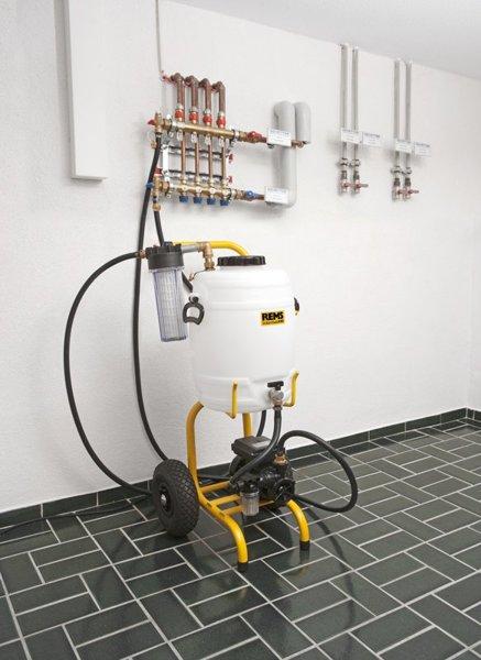 REMS Solar-Push K 60. Elektryczna jednostka napełniająco-płucząca.