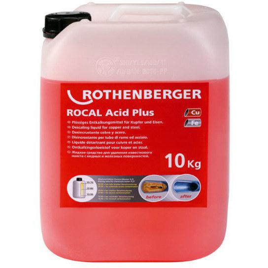 Środek do odkamieniania ROCAL Acid Plus 10kg 61106 ROTHENBERGER