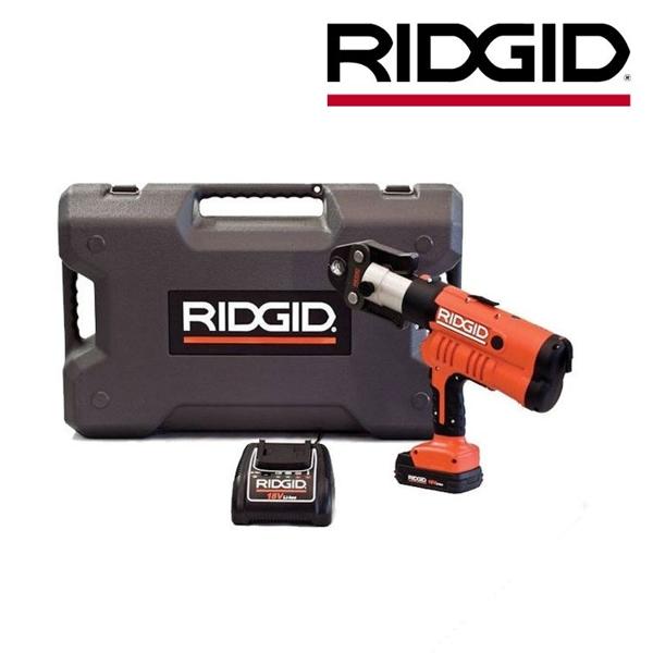 Zaciskarka RP340-B z futerałem, akumulatorem i ładowarką RIDGID
