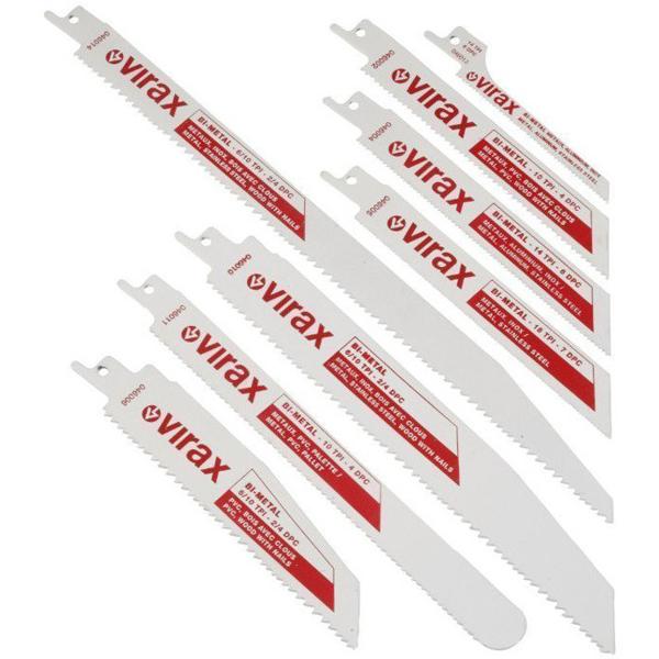 Zestaw 5 brzeszczotów z hss bi-metal VIRAX 046005