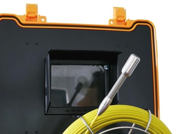 Zestaw inspekcyjny do rur. Kamera inspekcyjna GTools model GT-Cam 18 R-50
